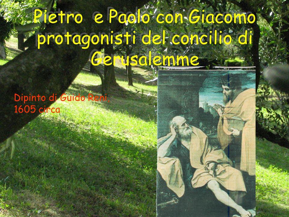 Pietro e Paolo con Giacomo protagonisti del concilio di Gerusalemme