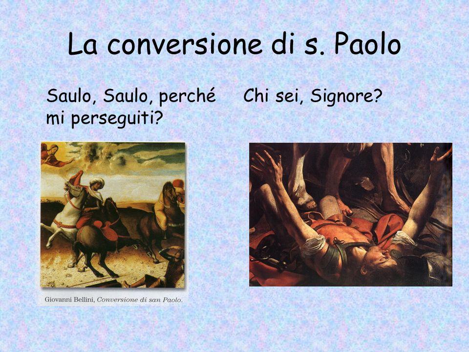 La conversione di s. Paolo