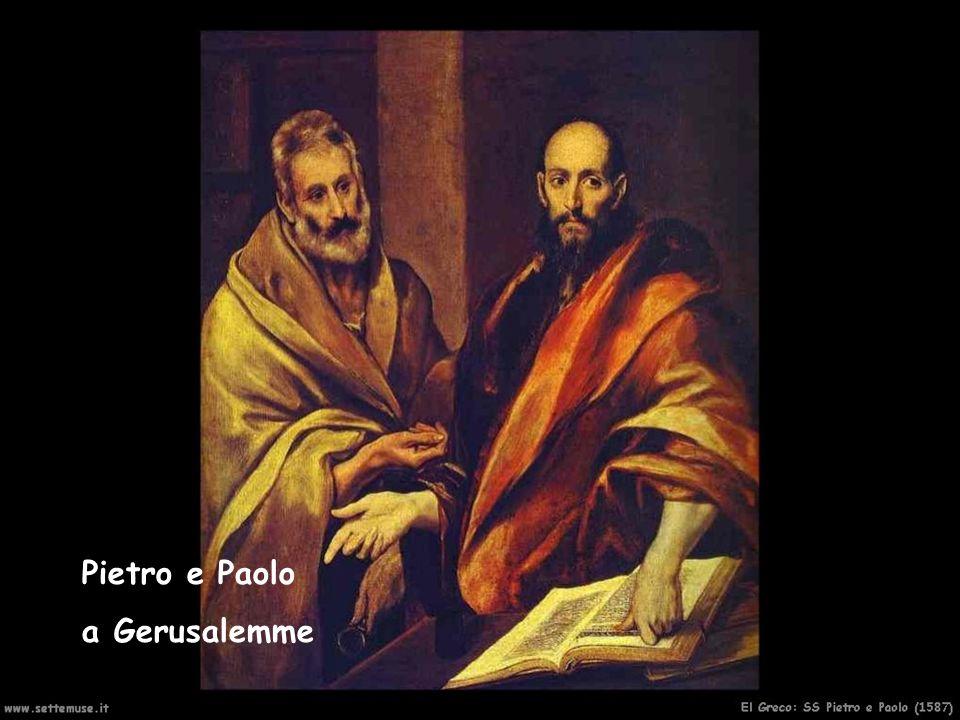 Pietro e Paolo a Gerusalemme