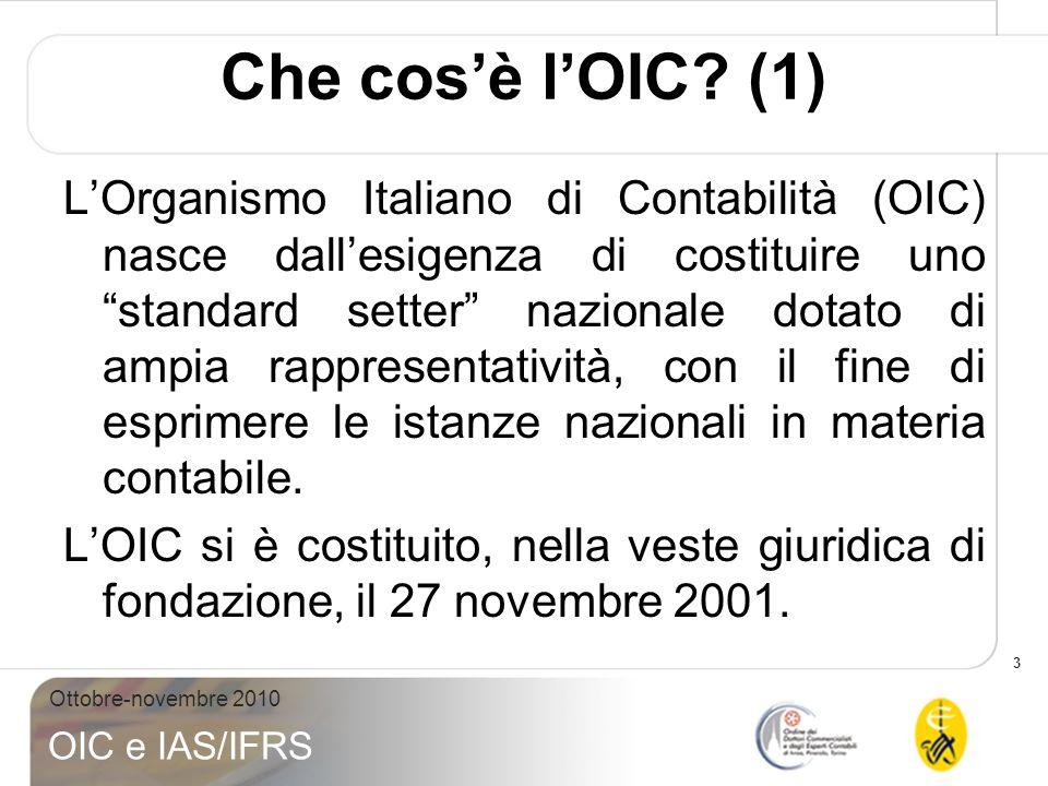 Che cos'è l'OIC (1)