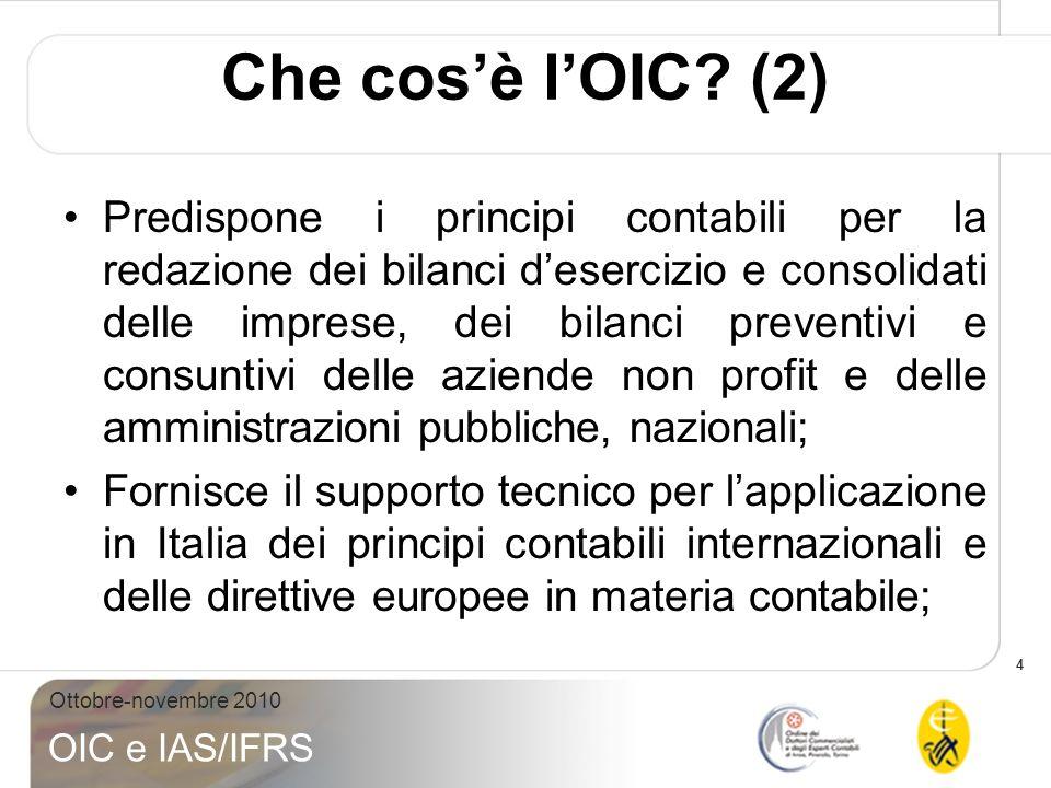 Che cos'è l'OIC (2)