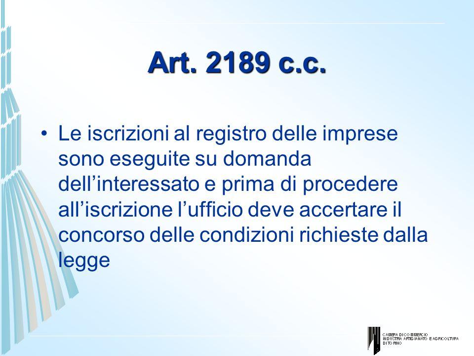 Art. 2189 c.c.