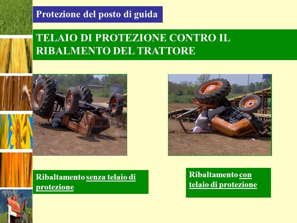 TELAIO DI PROTEZIONE CONTRO IL RIBALMENTO DEL TRATTORE