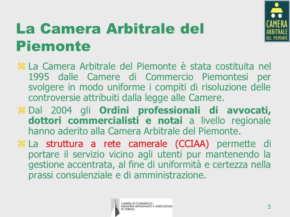 La Camera Arbitrale del Piemonte