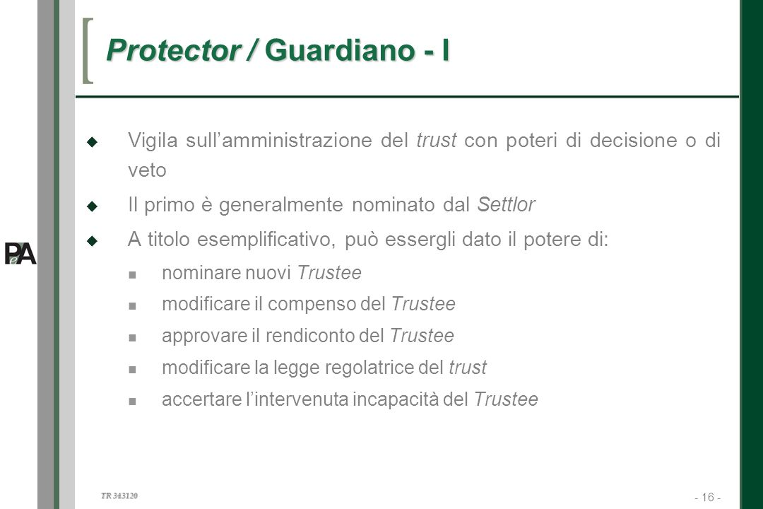 Protector / Guardiano - I