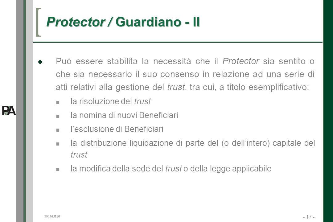 Protector / Guardiano - II