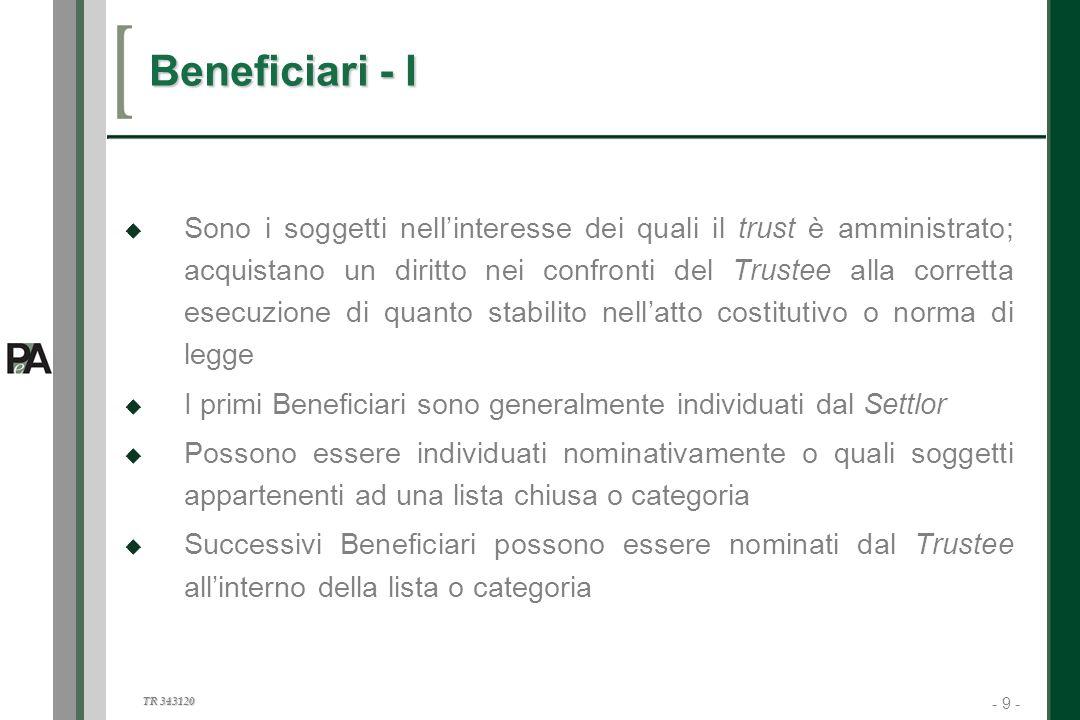 Beneficiari - I