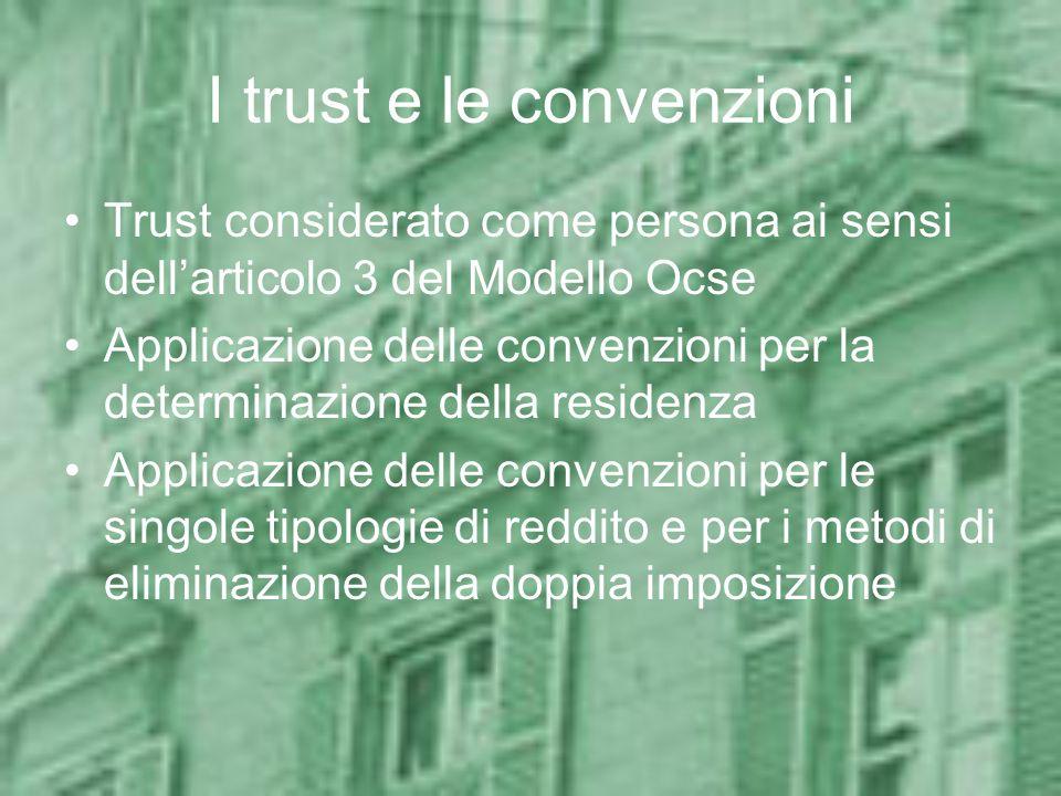 I trust e le convenzioni