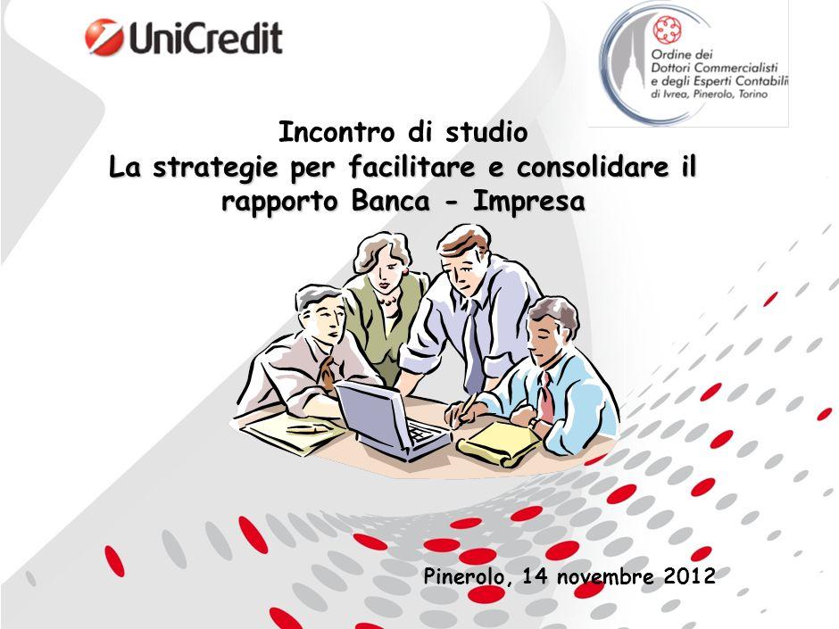 La strategie per facilitare e consolidare il rapporto Banca - Impresa