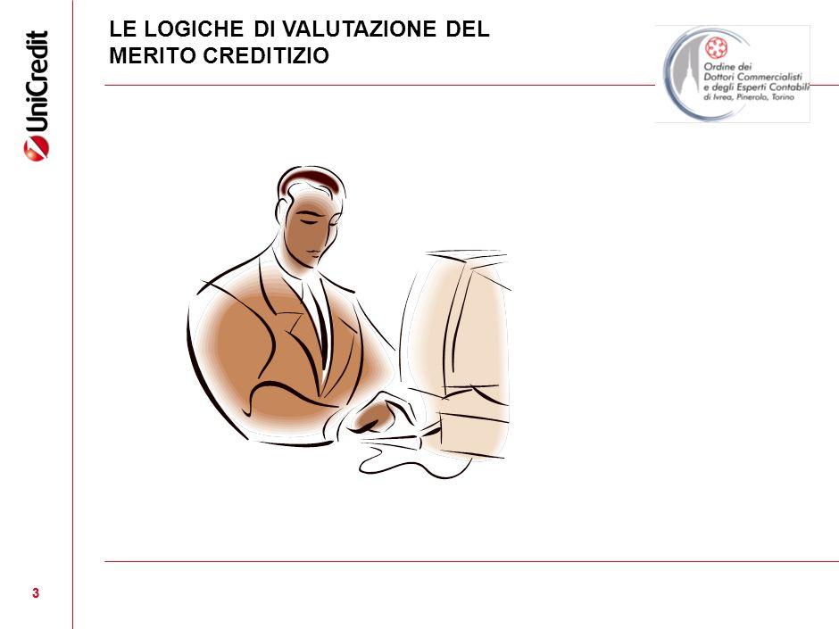 LE LOGICHE DI VALUTAZIONE DEL MERITO CREDITIZIO