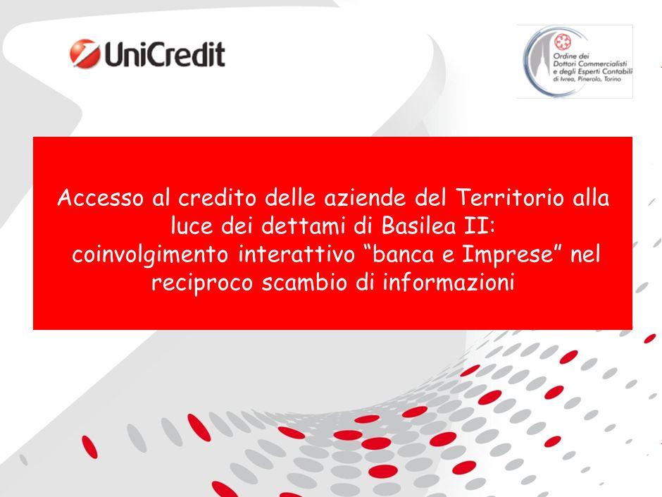 Accesso al credito delle aziende del Territorio alla luce dei dettami di Basilea II: