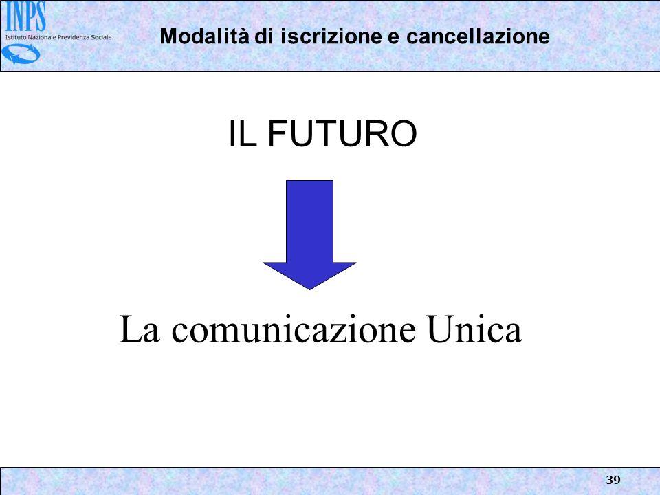La comunicazione Unica