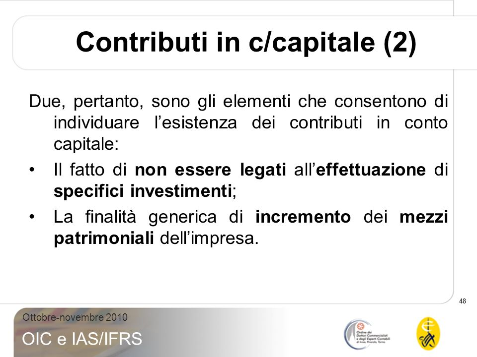 Contributi in c/capitale (2)