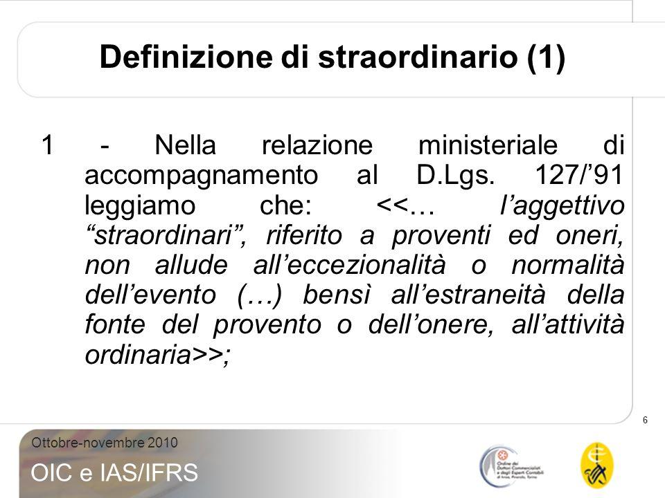 Definizione di straordinario (1)