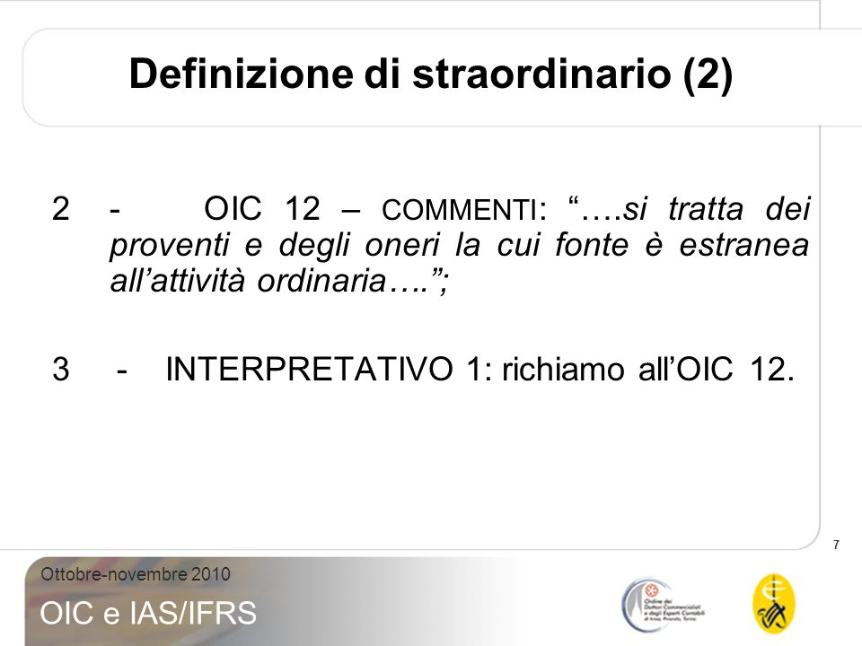 Definizione di straordinario (2)