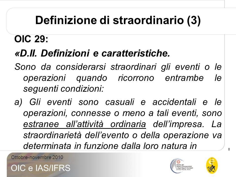 Definizione di straordinario (3)