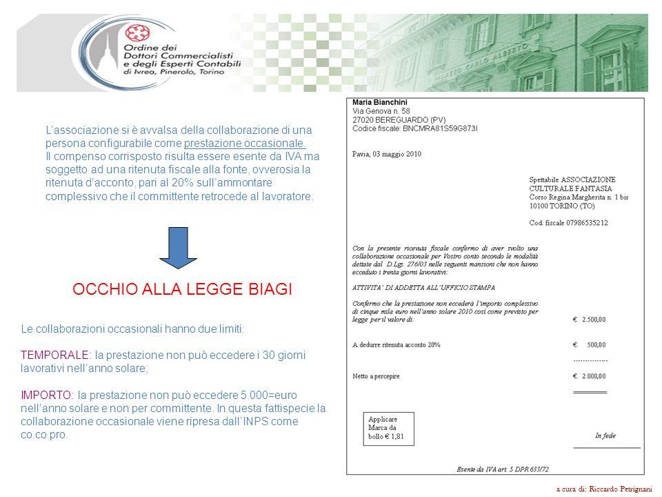 OCCHIO ALLA LEGGE BIAGI