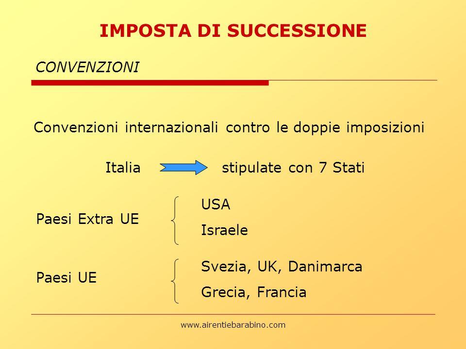 Italia stipulate con 7 Stati
