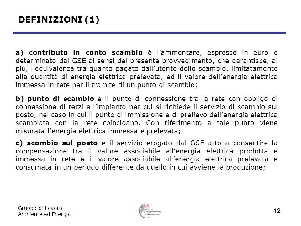DEFINIZIONI (1)