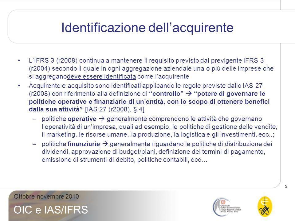 Identificazione dell'acquirente
