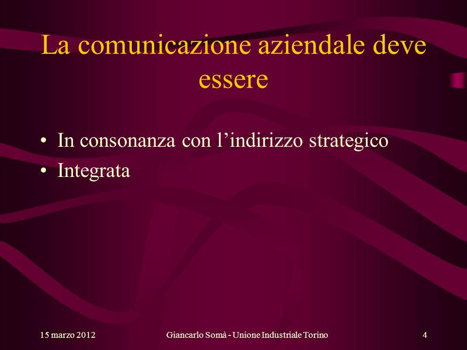 La comunicazione aziendale deve essere