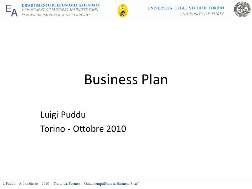 Luigi Puddu Torino - Ottobre 2010