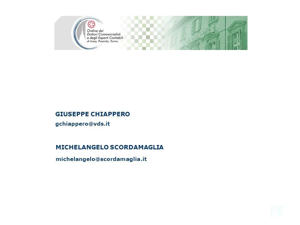 MICHELANGELO SCORDAMAGLIA