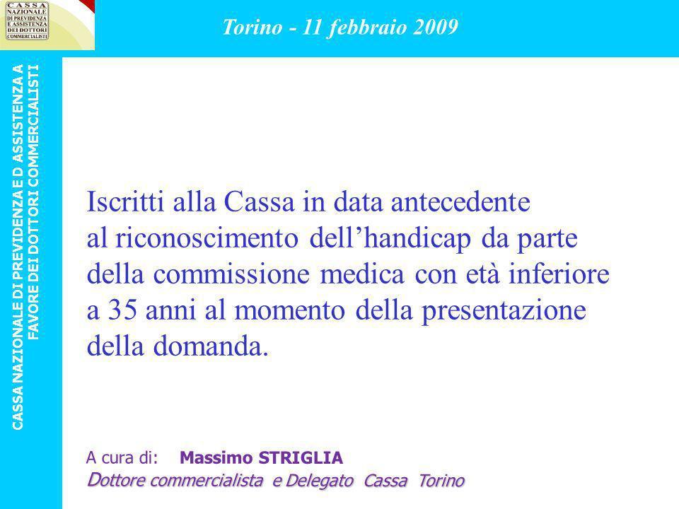 Iscritti alla Cassa in data antecedente