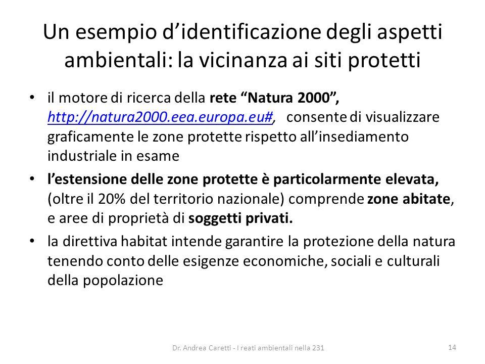 Dr. Andrea Caretti - I reati ambientali nella 231