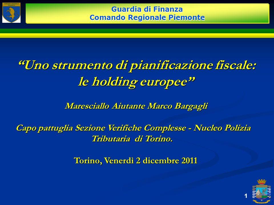 Uno strumento di pianificazione fiscale: le holding europee