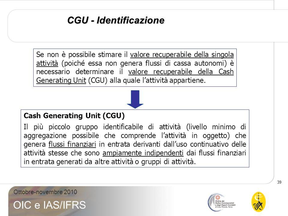 CGU - Identificazione
