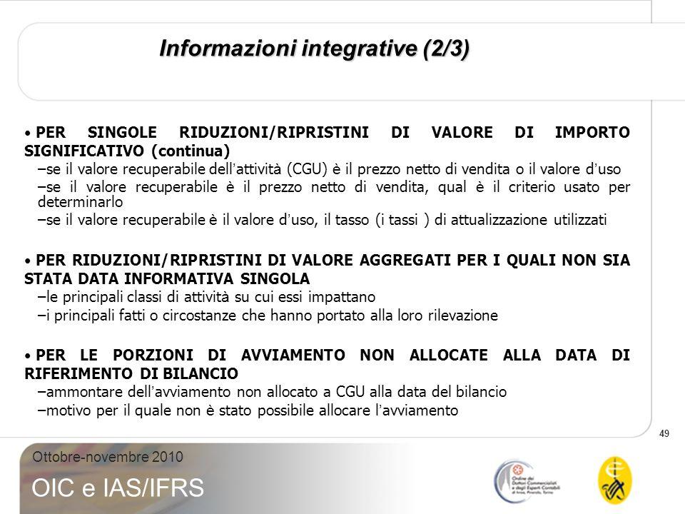 Informazioni integrative (2/3)