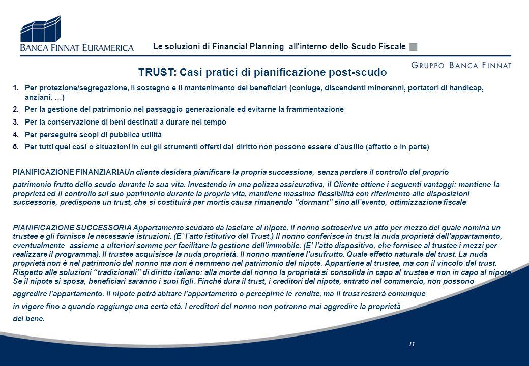 Le soluzioni di financial planning all 39 interno dello scudo - Donazione immobile nonno nipote ...
