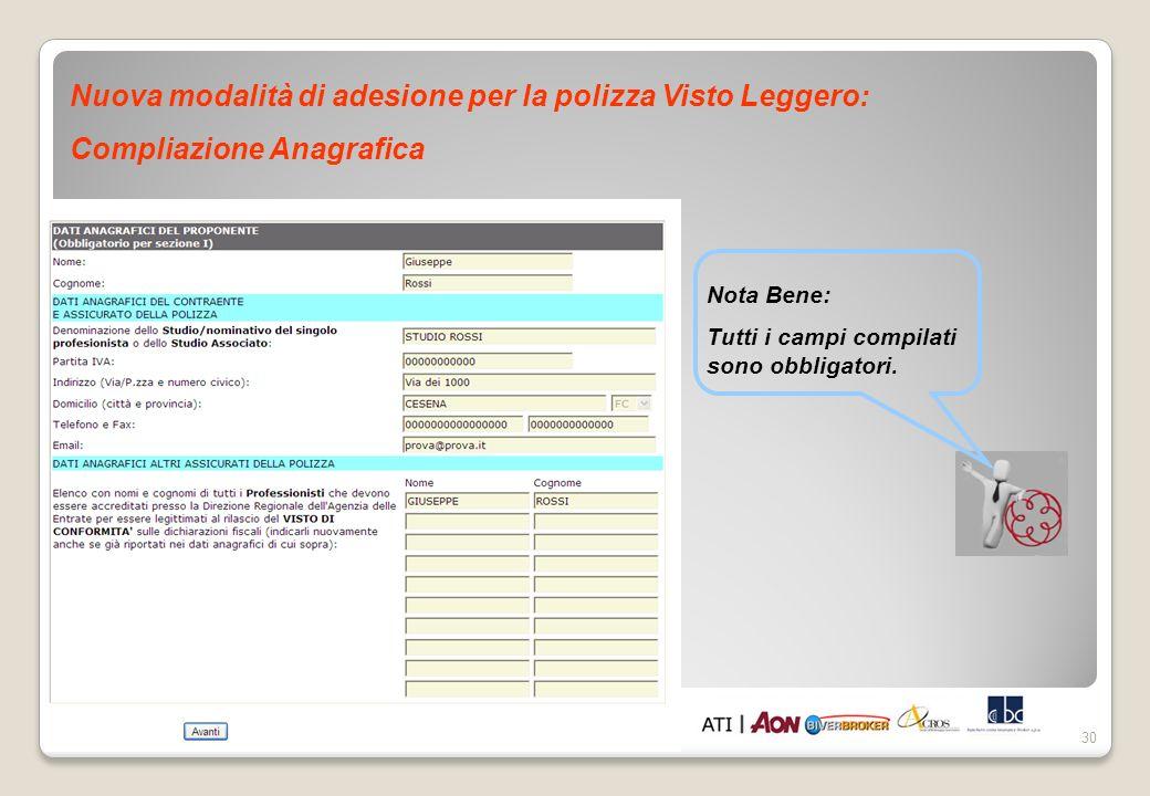 Nuova modalità di adesione per la polizza Visto Leggero: