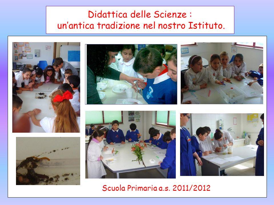 Didattica delle Scienze : un'antica tradizione nel nostro Istituto.
