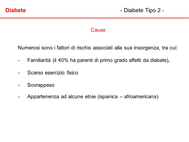 Diabete - Diabete Tipo 2 -