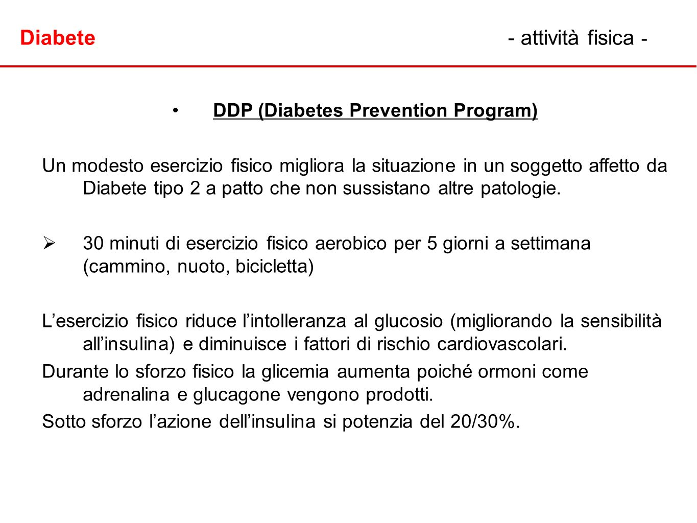 DDP (Diabetes Prevention Program)