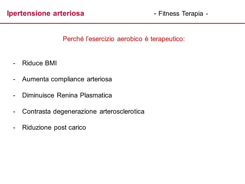 Perché l'esercizio aerobico è terapeutico: