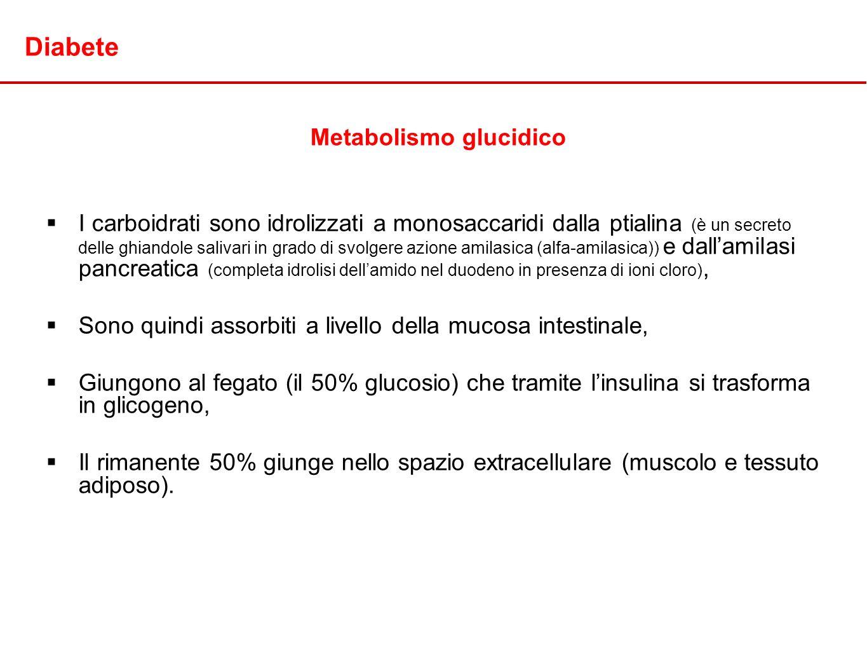 Metabolismo glucidico