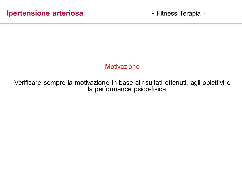 Ipertensione arteriosa - Fitness Terapia -