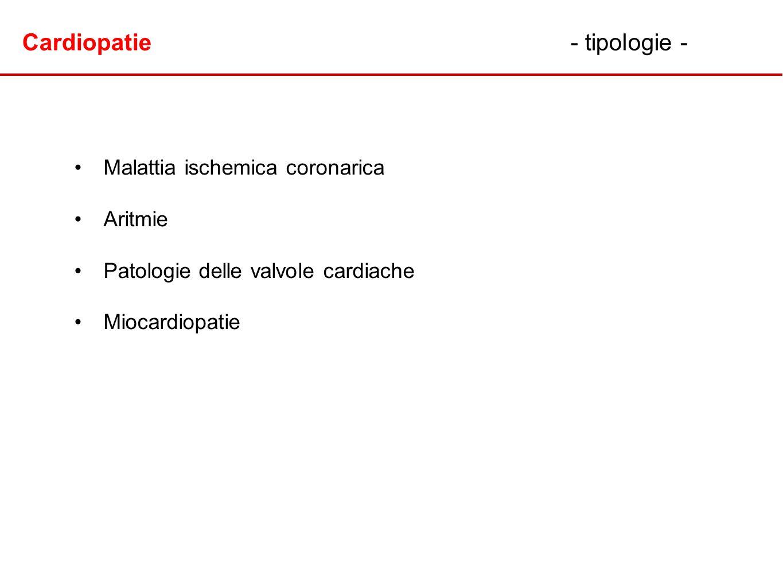 Cardiopatie - tipologie -