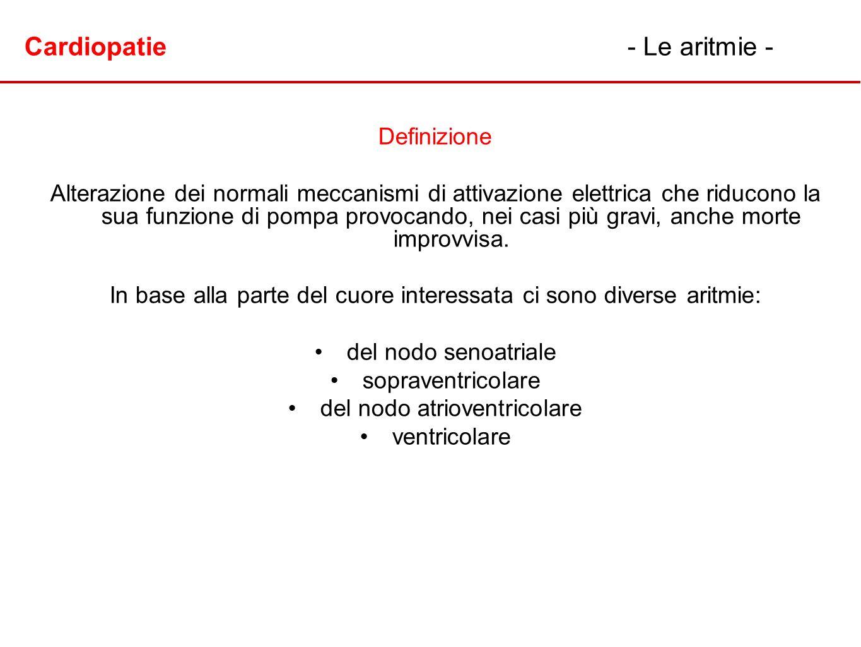 Cardiopatie - Le aritmie -