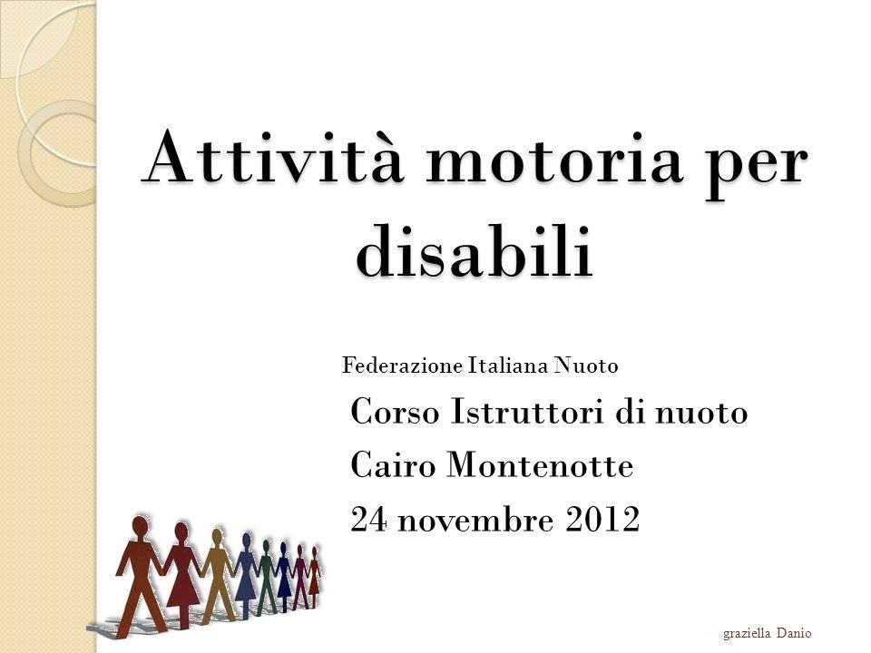 Attività motoria per disabili