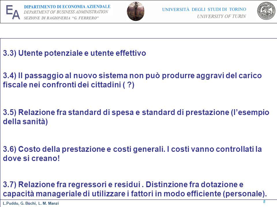 3.3) Utente potenziale e utente effettivo