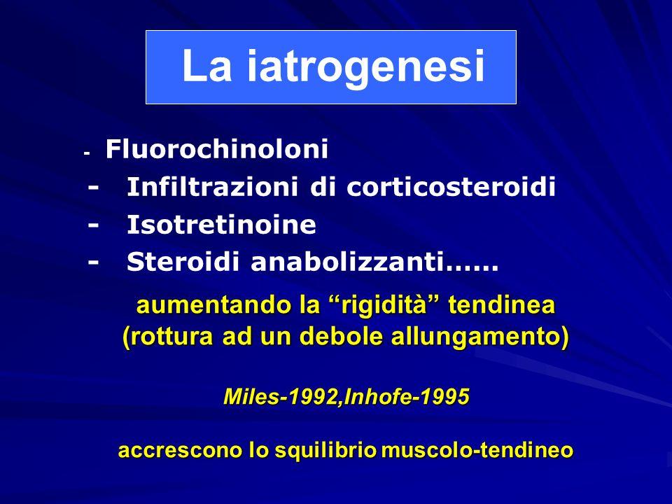 La iatrogenesi - Infiltrazioni di corticosteroidi - Isotretinoine