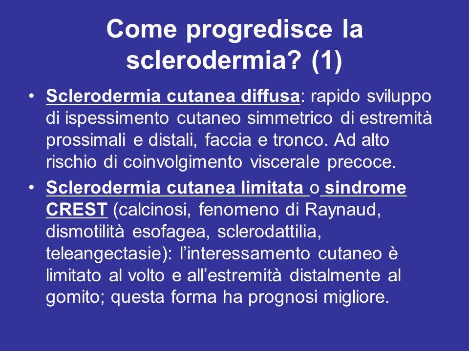 Come progredisce la sclerodermia (1)