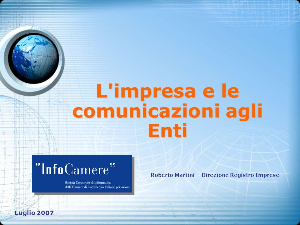 L impresa e le comunicazioni agli Enti