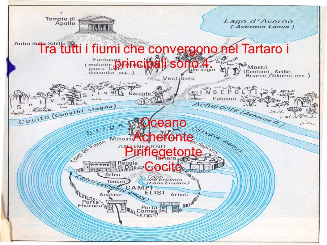 Tra tutti i fiumi che convergono nel Tartaro i principali sono 4: