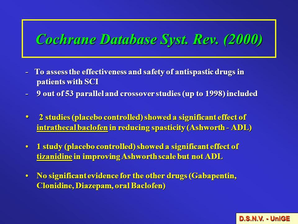Cochrane Database Syst. Rev. (2000)