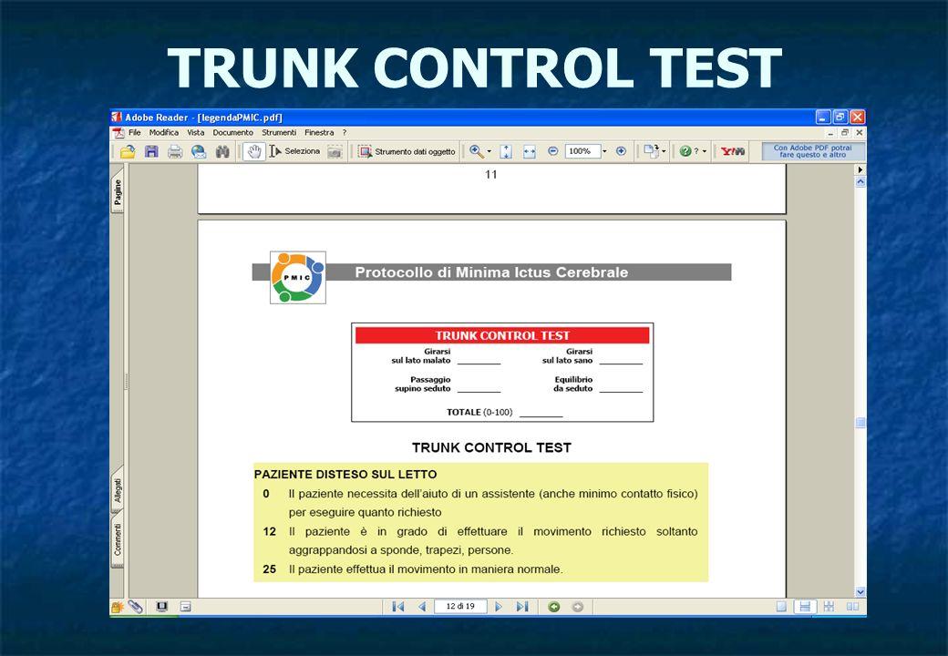 TRUNK CONTROL TEST
